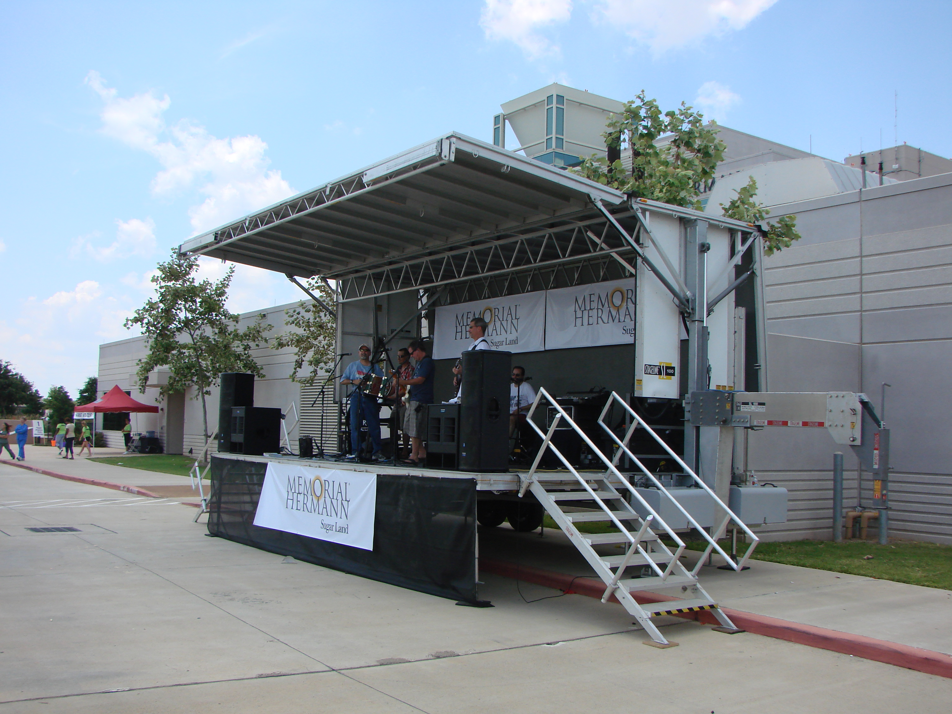 Houston Stage Rental: Event Equipment & Professional